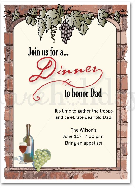 Dinner Invitation Card Template Free Wedding Invitation Sample – Free Dinner Invitations