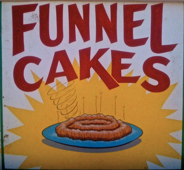 Odd Photo Of Funnel Cakes   Boing Boing