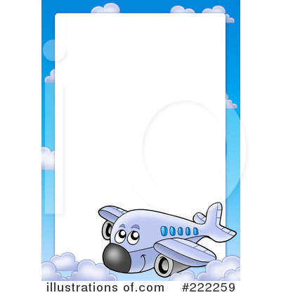 Royalty Free  Rf  Airplane Clipart Illustration By Visekart   Stock