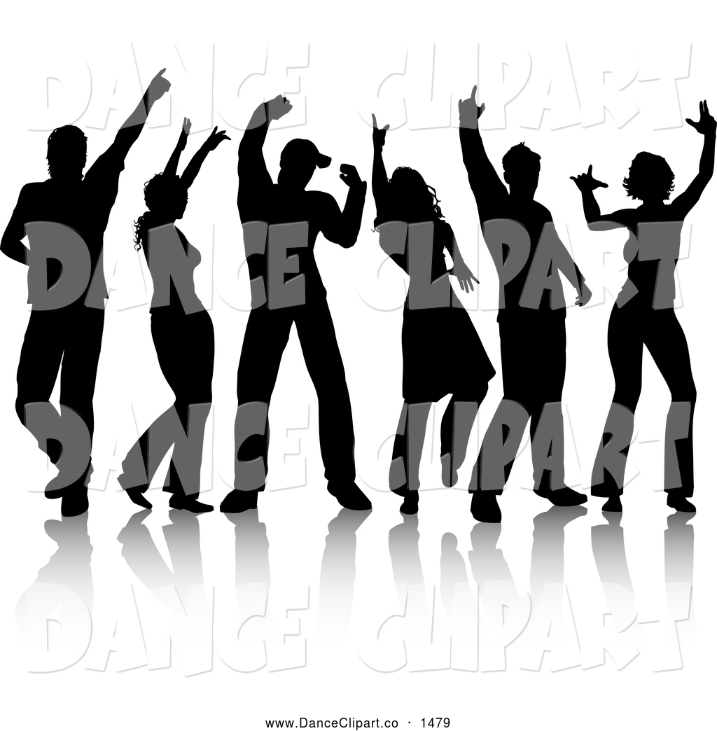 Black And White Group Clipart - Clipart Kid