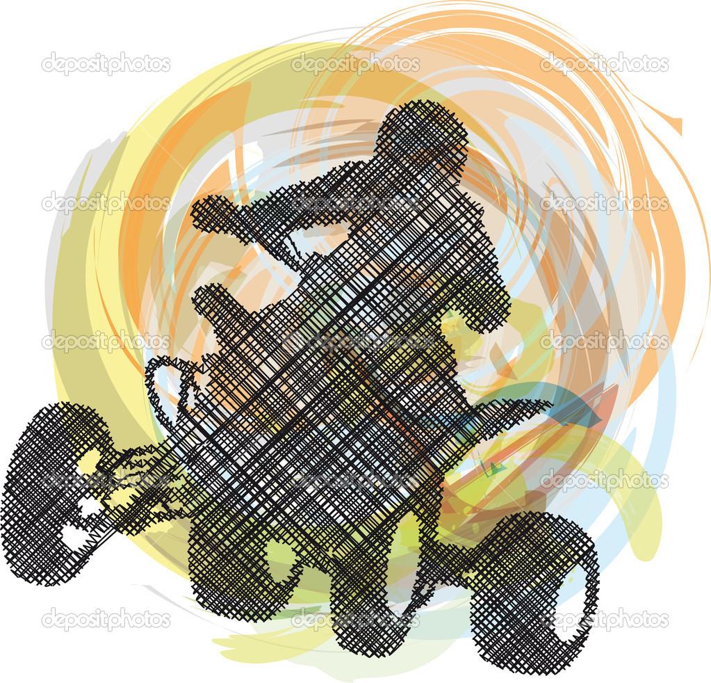 quad bike clipart - photo #46