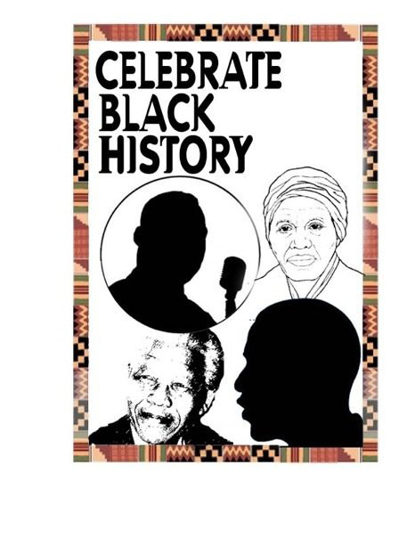 Black History Month Clip Art for Preschoolers