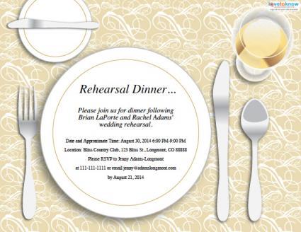 Dinner Invitation Clipart - Clipart Kid