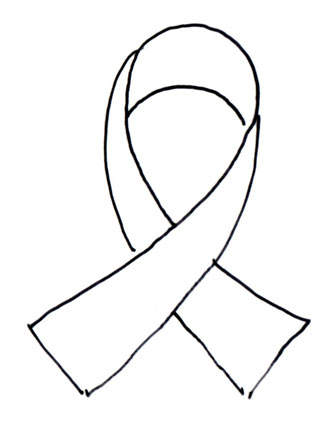 20 Breast Cancer Ribbon Coloring Page Free Cliparts That You Can