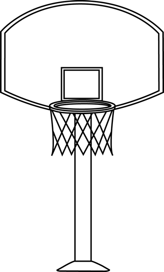 Basketball Black And White Clipart Black And White Basketball