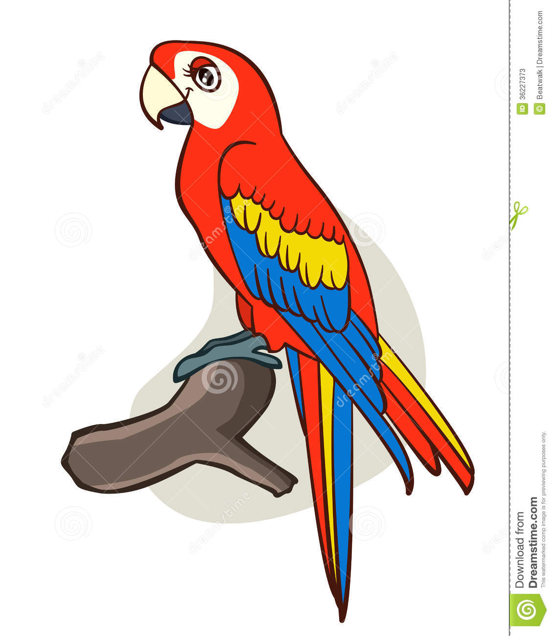 Cartoon Parrot Clipart - Clipart Suggest
