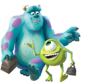 Free Monsters Inc  Activities   Earlymoments Com
