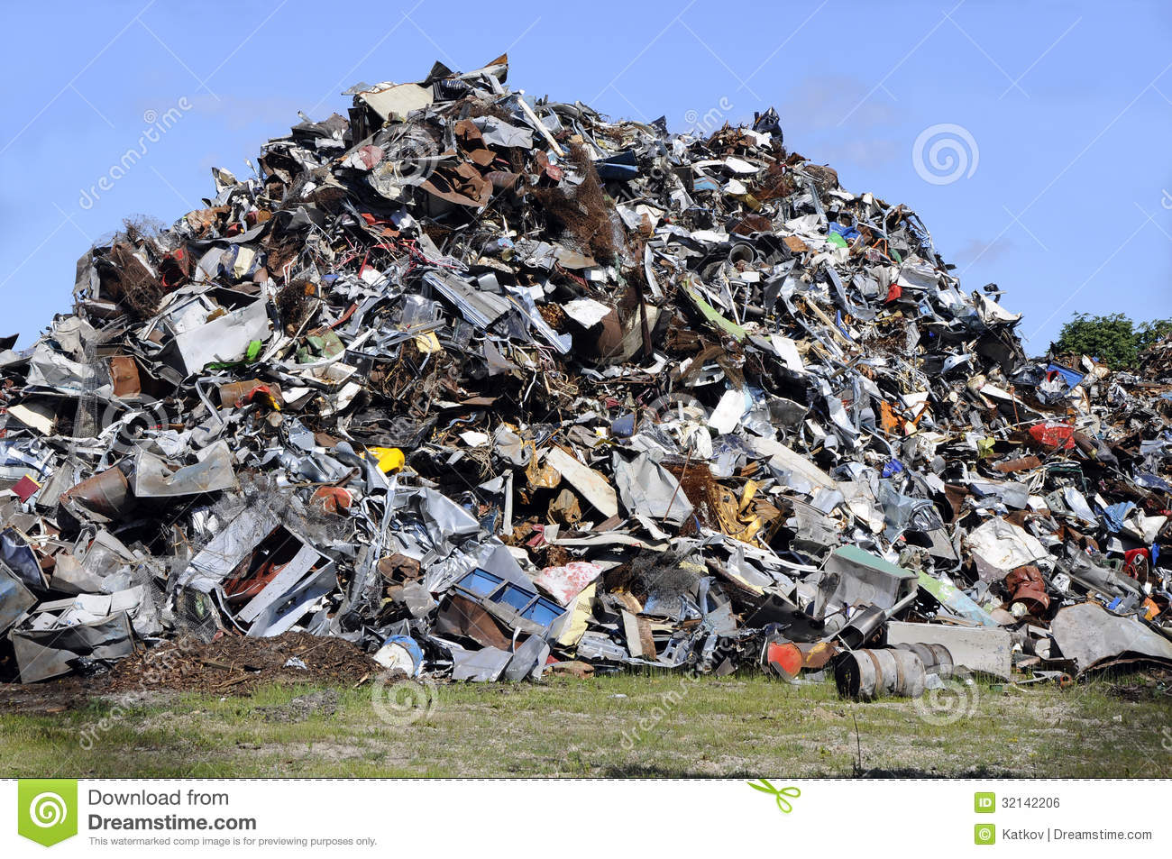 Garbage Pile Clipart Metal Garbage