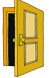 Lodge Doors Open At 600 Tyled Begins 700 Clipart   Free Clip Art