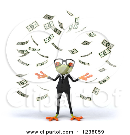 Make It Rain Clipart