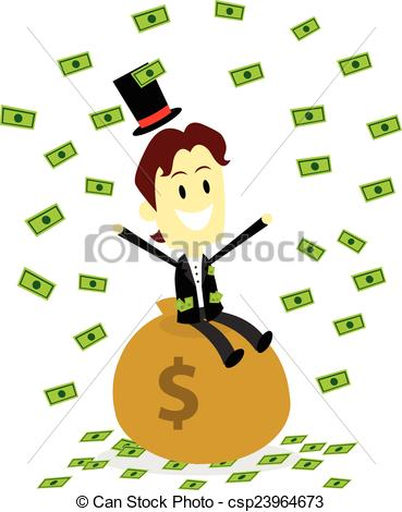 Make It Rain Money Clip Art