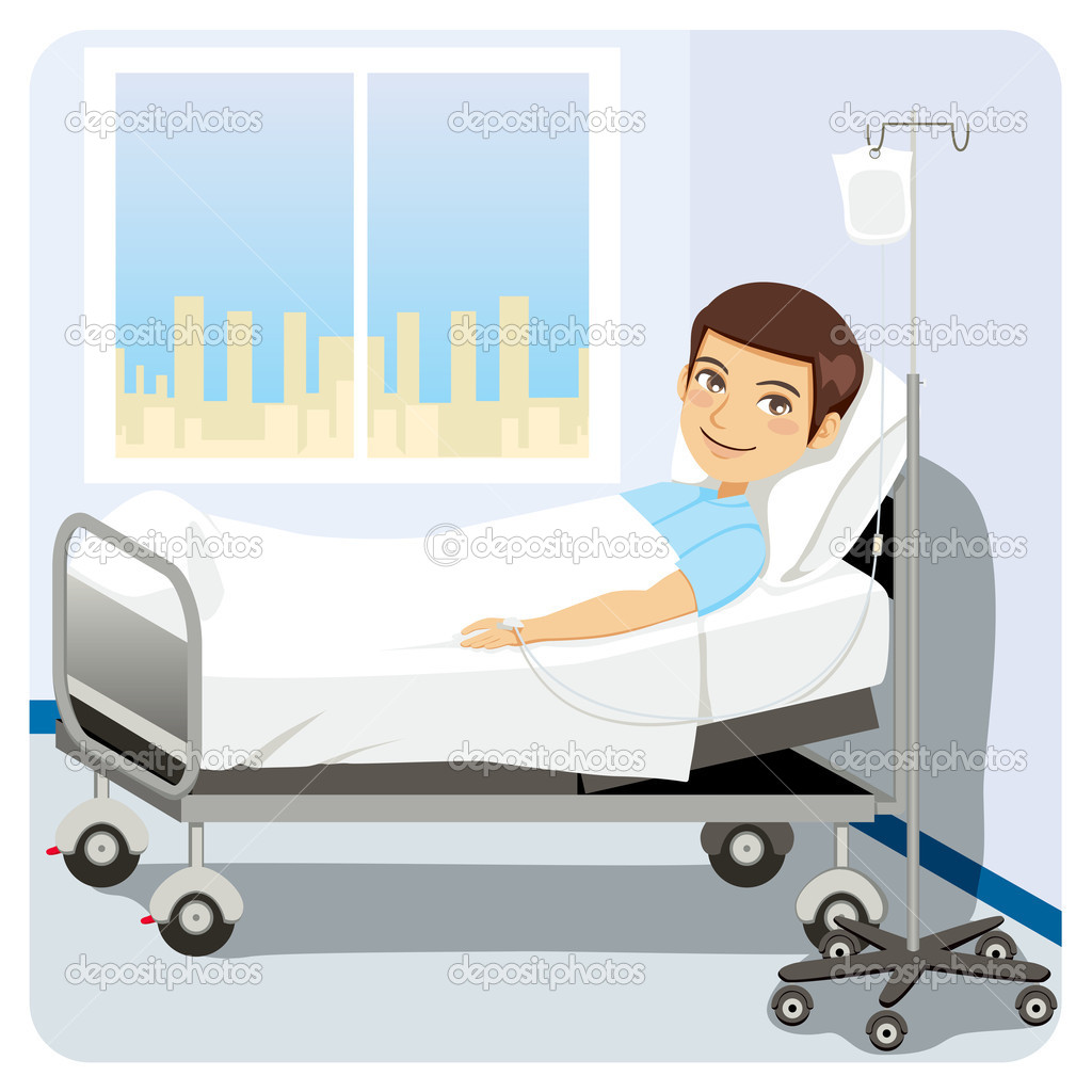 Coma Patient In Bed Clipart Clipart Suggest