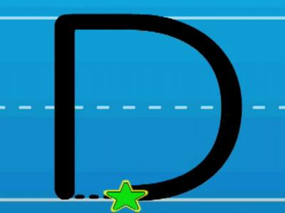 Print On Print The Letter D With Hooked On Phonics Clip 0 16 Min Your