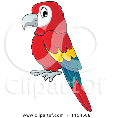 Royalty Free  Rf  Parrot Clipart Illustrations Vector Graphics  1