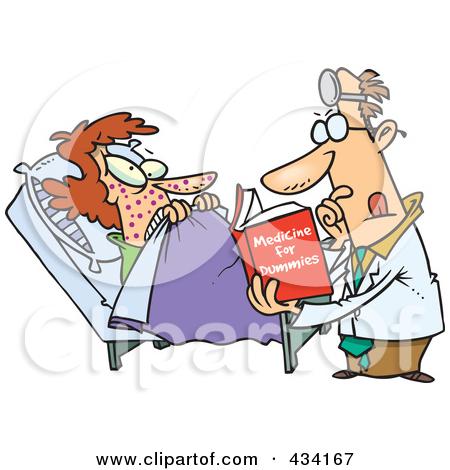 Patient counseling clip art