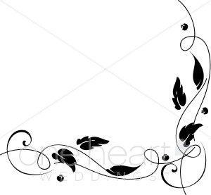 You May Also Like Clipart Oak Leaves Frame Autumn Page Divider Clipart