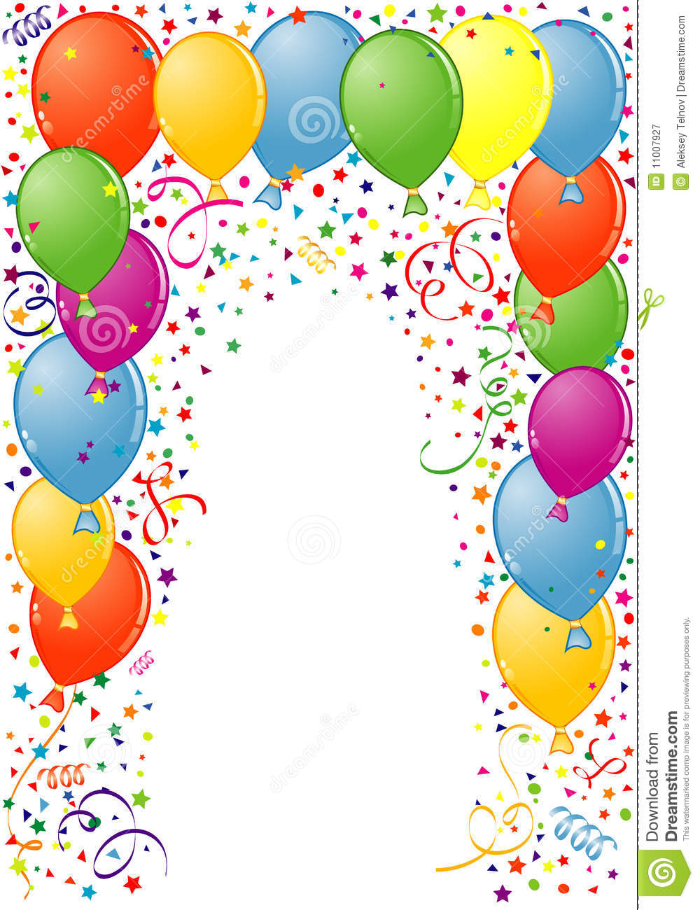 Happy Birthday Frame Clipart - Clipart Kid