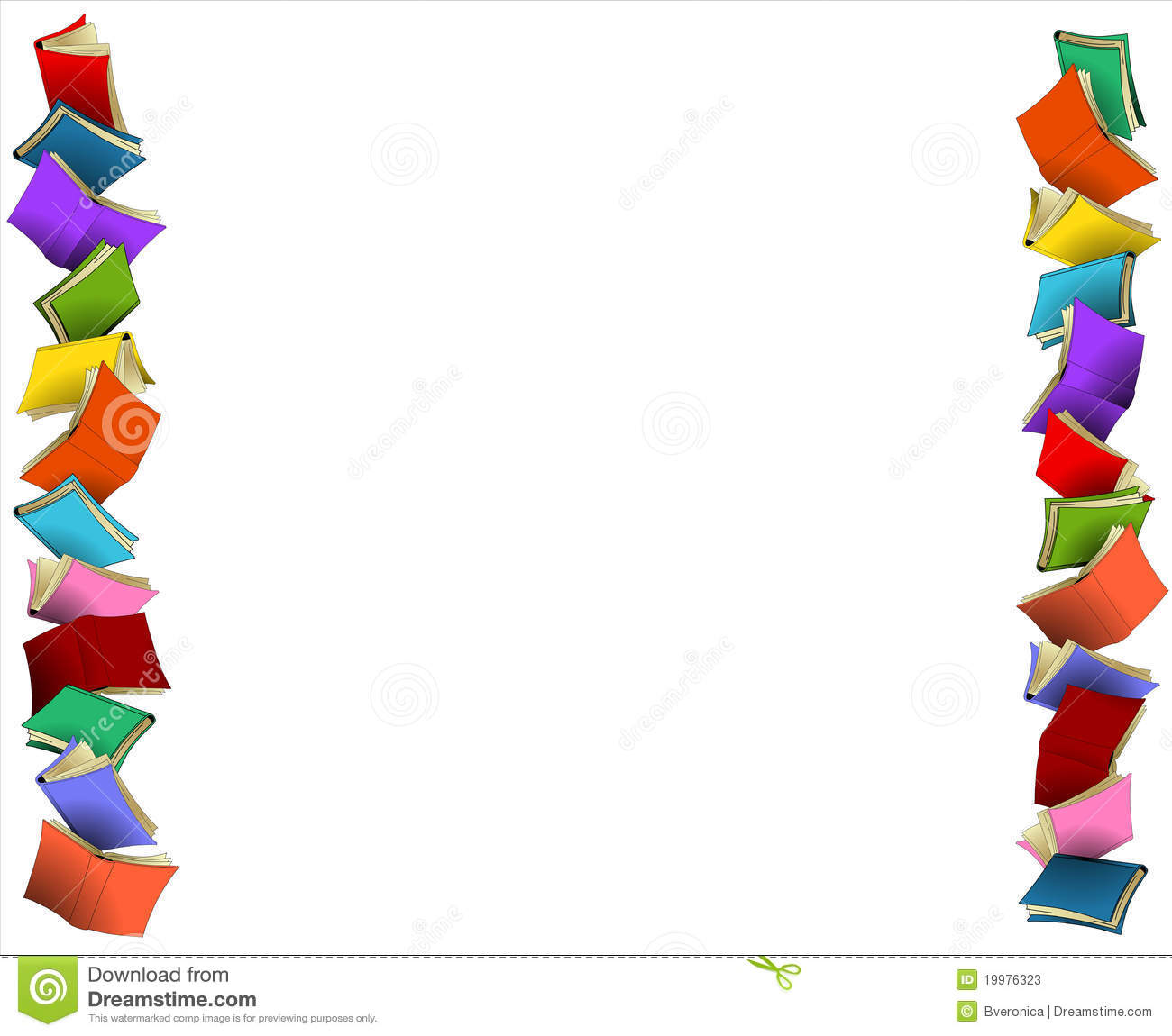 Colorful Borders Stock Photos   Image  19976323