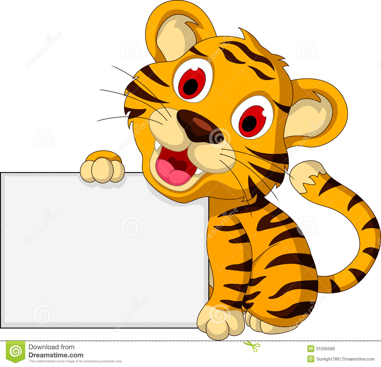 Cute Tiger Clip Art Galleryhipcom The Hippest Galleries