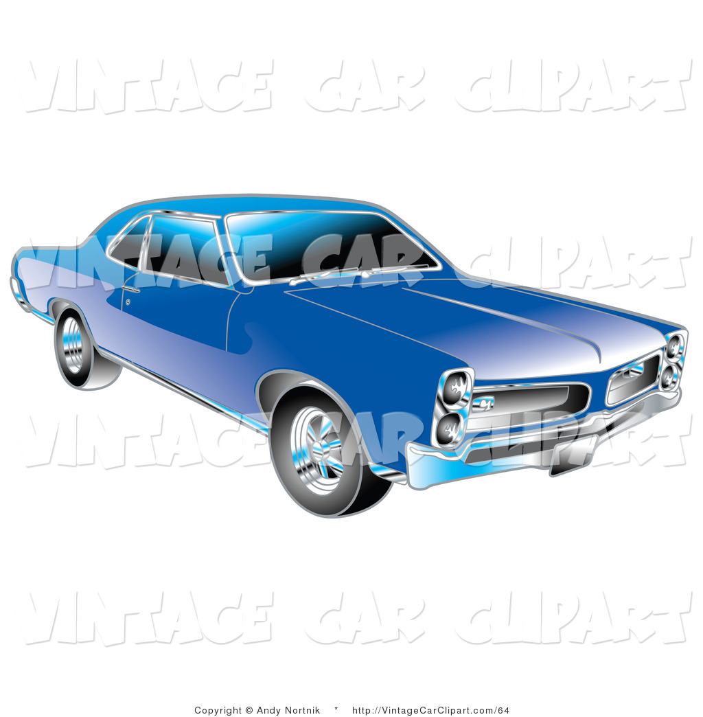 Free American Muscle Car Stock Vintage Car Clipart Illustrations