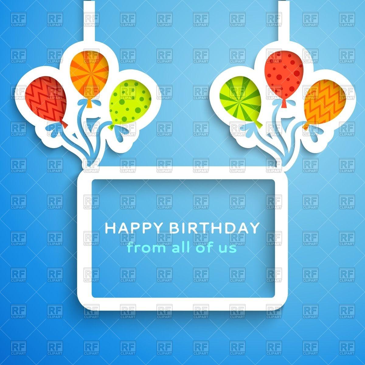 Happy Birthday Frame Clipart - Clipart Kid