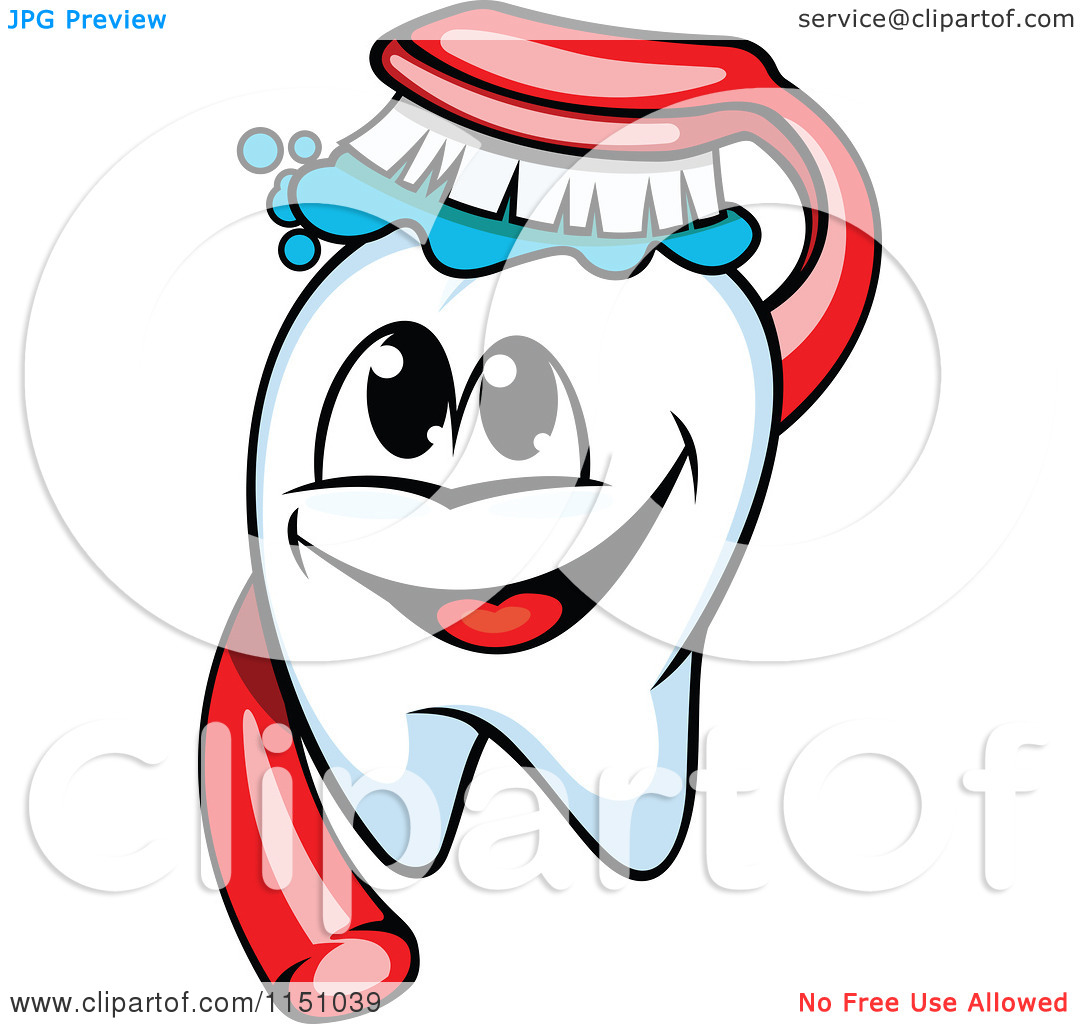 Happy Tooth Clipart - Clipart Kid