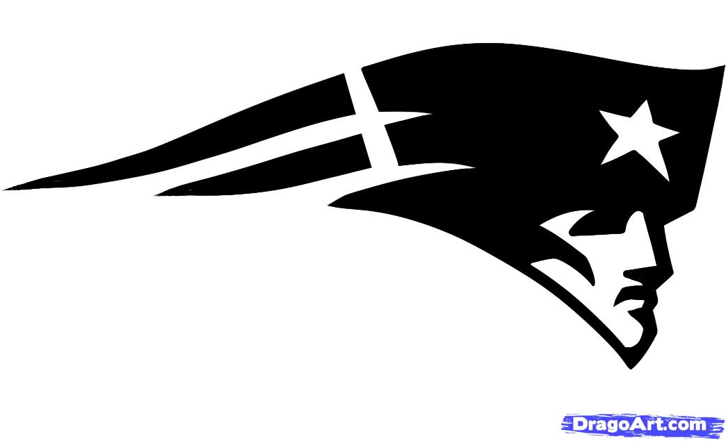 Clip Art New England Patriots Clipart new england patriots clipart kid how to draw the logo step image