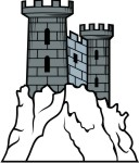 Medieval Castle Clip Art For Family Coat Of Arms