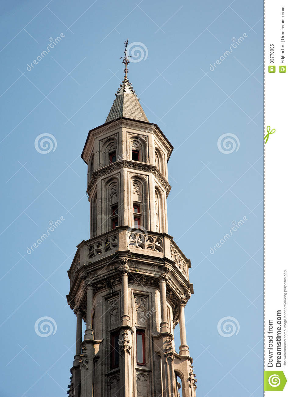 Medieval Tower Royalty Free Stock Photo   Image  33778835
