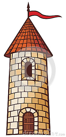 Medieval Tower Stock Photo   Image  34103510