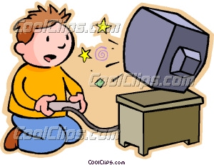 Playing Video Game Vector Clip Art Coolclips Top Host Games   Gameshd