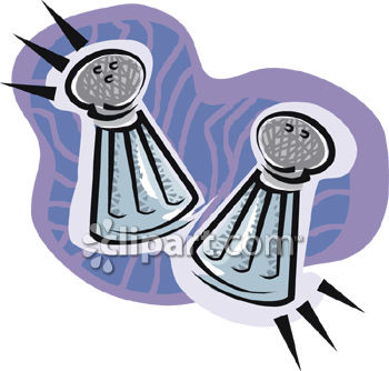 0914 0552 Salt And Pepper Shaker Clipart Picture Clipart Image Jpg