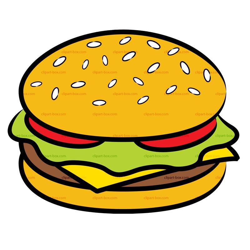 Cheeseburger Clipart - Clipart Kid