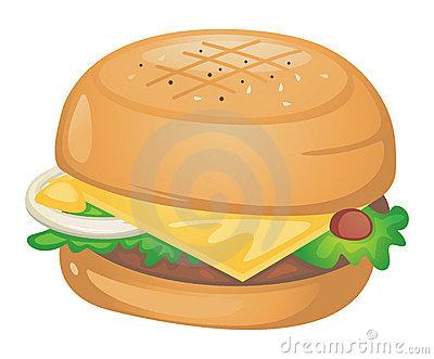grilled chicken sandwich clipart