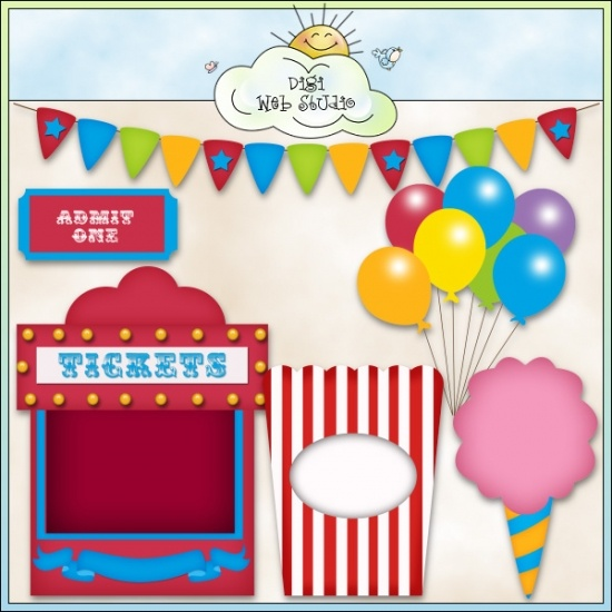 Circus Fun 1   Non Exclusive Clip Art   Circuscarnivalfair   Pinterest
