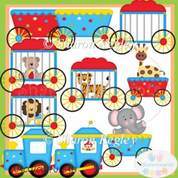 Cu Clipart      Browse All Cu Clipart    Circus Train Clip Art