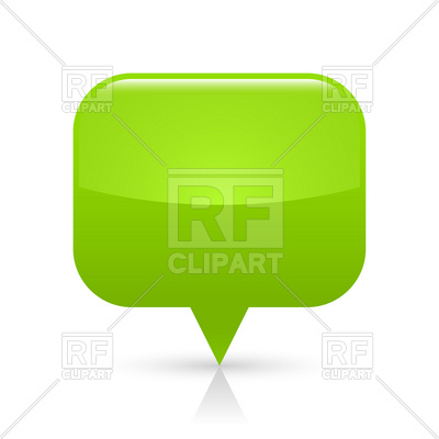 Green Square Blank Map Pin Download Royalty Free Vector Clipart  Eps