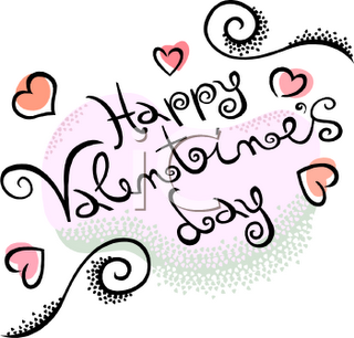 Happy Valentines Day Clipart