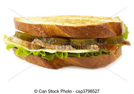 Picture Of Chicken Sandwich   Sandwich With Fried Chicken And Pickle