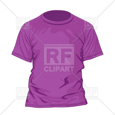 Purple T Shirt With Texture   Violet Tshirt Design Template 92755