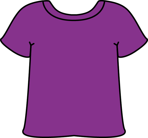 Purple Shirt Clipart - Clipart Kid