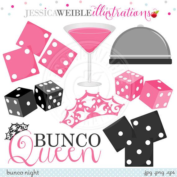 3 bunco dice clipart clipart suggest Bunco Invitation Template Bunco Dice