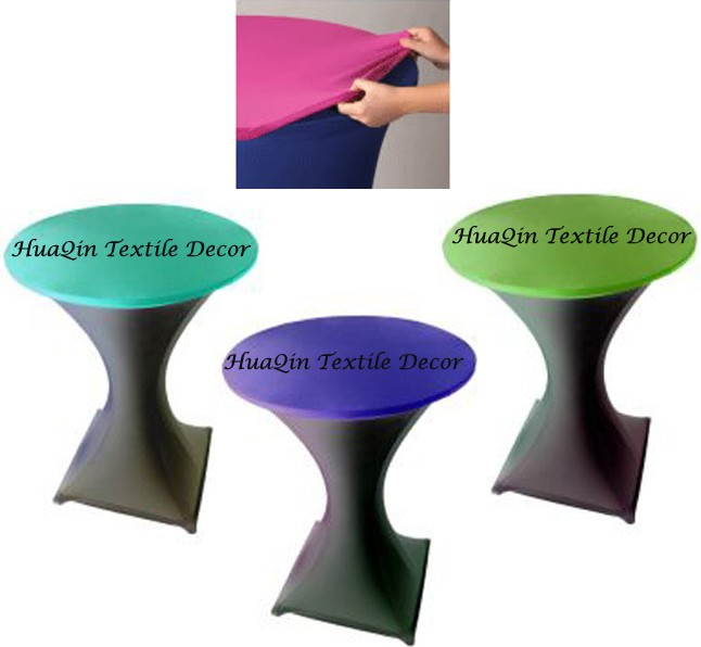 Wedding Spandex Table Cover And Anquet Lycra Table Linens