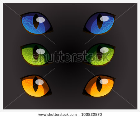Wildcat Eyes Clipart - Clipart Kid