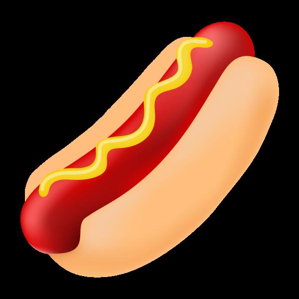 Cartoon Hot Dog Clipart - Clipart Kid