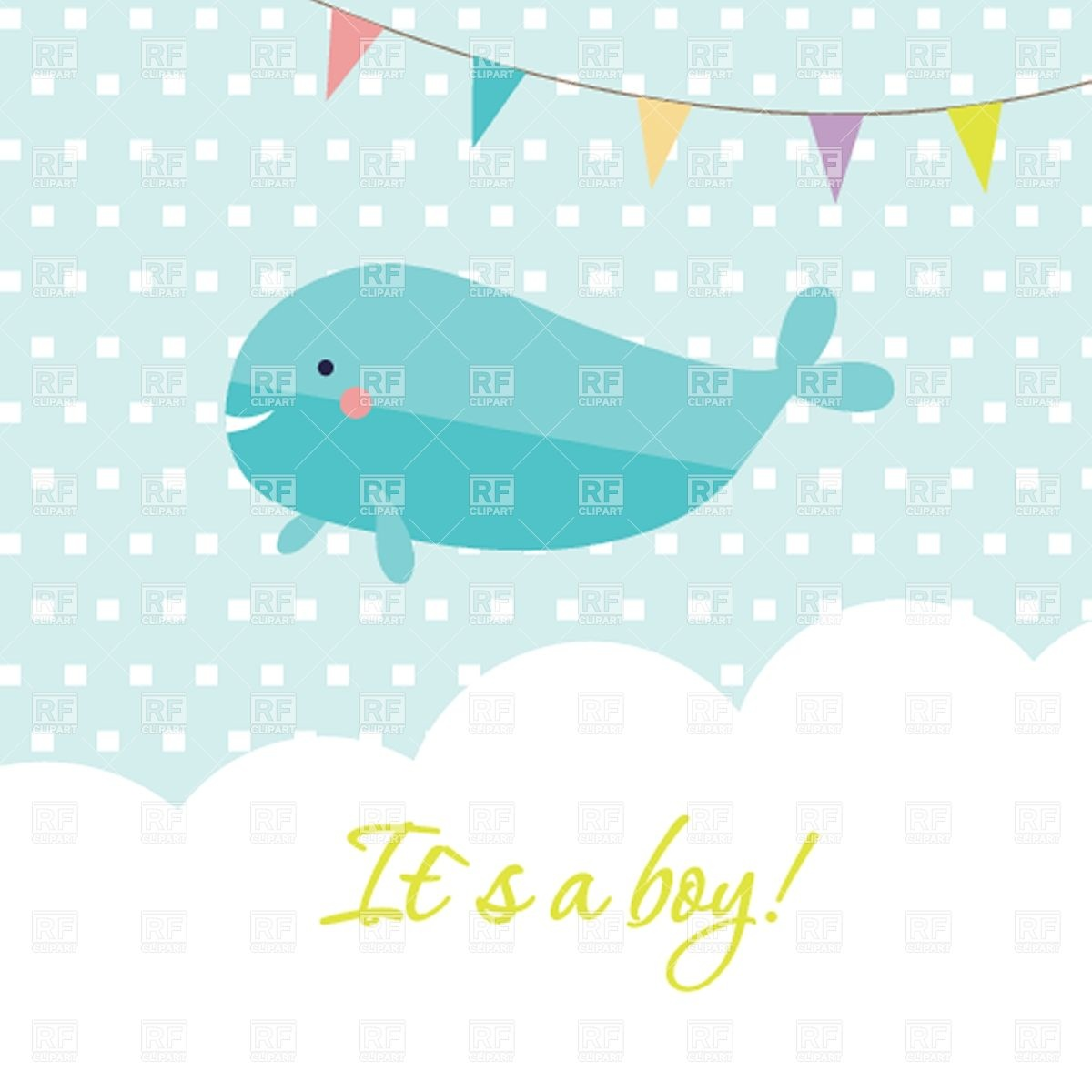 clipart baby shower whale - photo #33