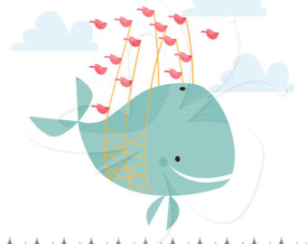Baby Shower Whale Clip Art   Clipart Panda   Free Clipart Images