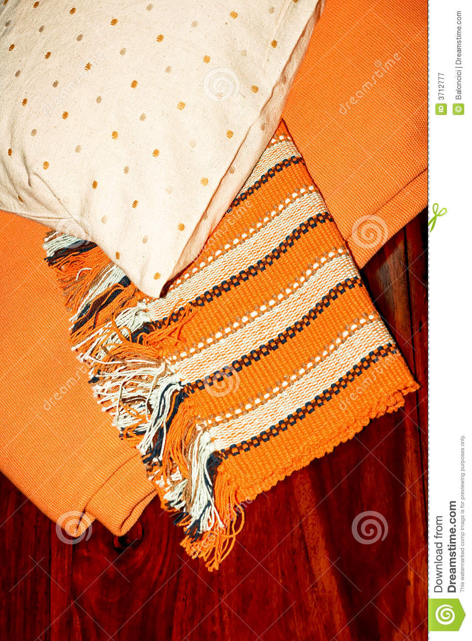 Blanket And Pillow Royalty Free Stock Photography   Image  3712777