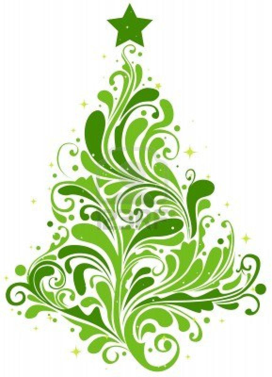 Office Clip Art Green Swirls – Cliparts