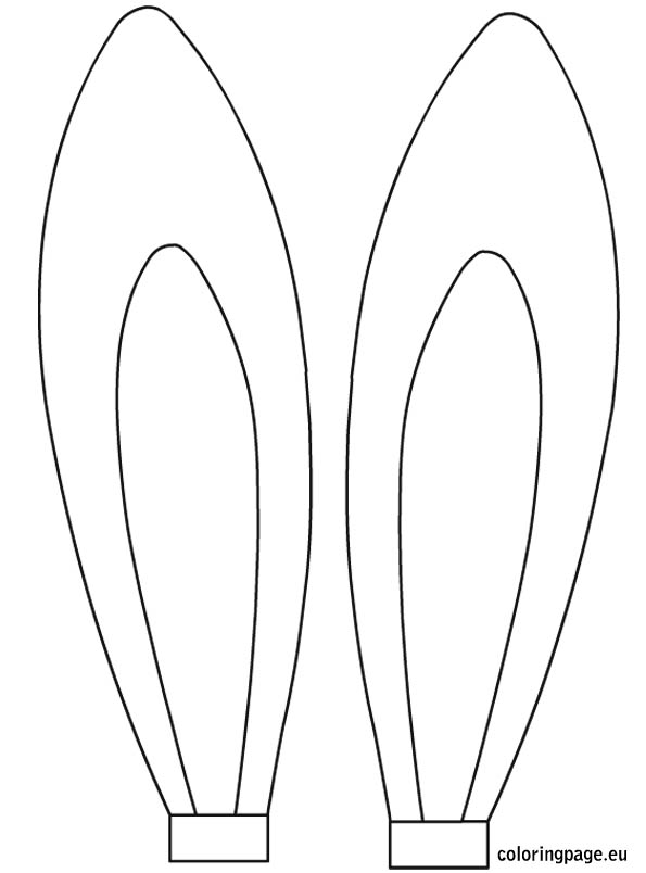 bunny ears coloring page - horse with bunny ears clipart clipart suggest